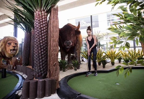 18-Hole Game of Around the World Mini Golf for One Person - Options for up to Six People