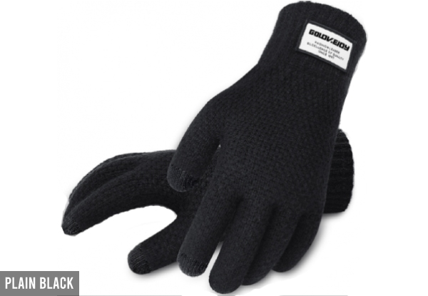 Screen Gloves - Nine Styles Available with Free Delivery