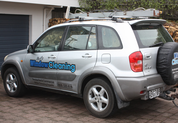 Interior, Exterior & Frame Window Cleaning Service - Options for up to Six-Bedroom House & for Water Stain Treatment