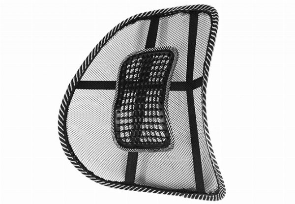 Two-Pack of Car Seat Back Rests for Lumbar Support
