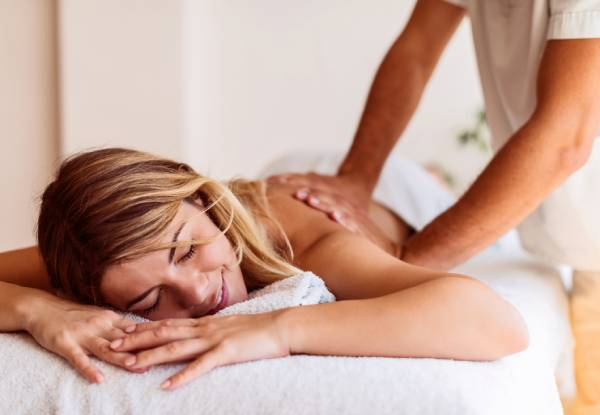 60-Minute Deep-Tissue Massage Treatment for One incl. $10 Return Voucher - Option for Couples