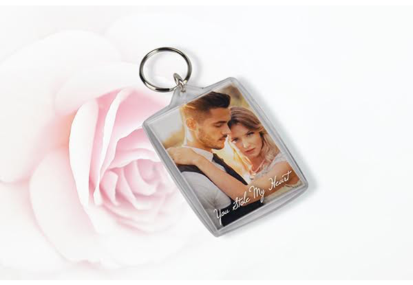 Personalised Key Ring - Option for up to Four Key Rings