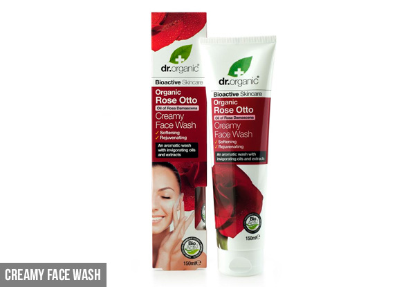 Dr.Organic Rose Otto Skincare Range - 10 Options Available