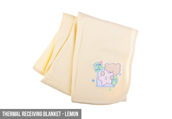 Baby Blanket Range incl. Cotton, Knitted & Thermal Options
