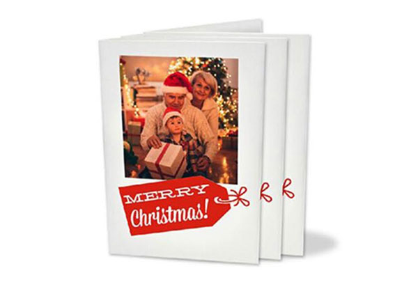 Personalised Christmas Cards - Two Sizes Available