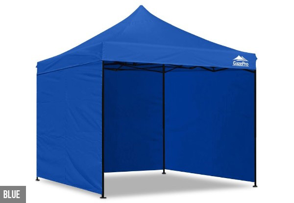 3x3m Gazebo with Side Walls - Six Colours Available