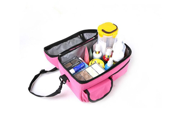 8L Water Resistant Travel Cooler Bag - Four Colours Available with Free Metro Delivery