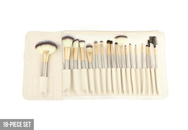 Make-Up Brush Range with Free Delivery - Four Options