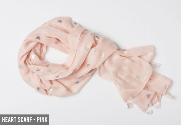 Women's Scarf - Nine Options Available