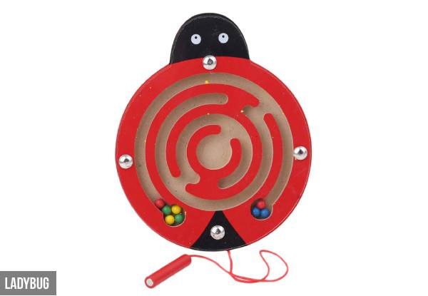Kids Magnetic Maze Toy - Nine Options Available