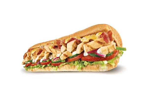 $6 for any Six Inch Sub or $9 for a Foot Long Sub