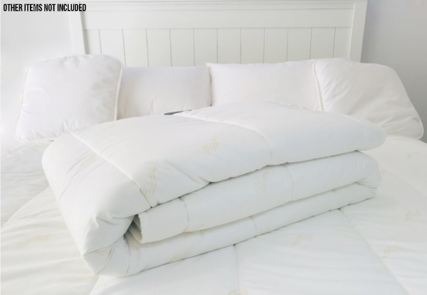 NZ Made 350gsm 50/50 Alpaca & Wool Duvet Inner - Four Sizes Available