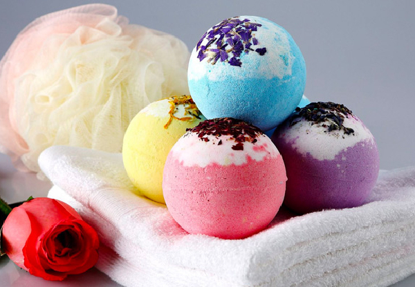 Six-Piece Nature Burst Bath Bombs Gift Set - Option for Two Sets