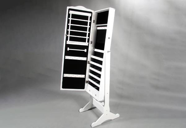 Dressing Mirror Jewellery Cabinet incl. Lock