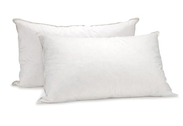 Royal Comfort Goose Pillow Twin Pack with Free Delivery