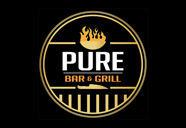 Two Main Courses for Two People at Pure Bar & Grill - Option for Four People - Valid from 7th January 2020