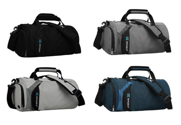 Sports/Travel Bag with Shoe Compartment - Four Colours Available