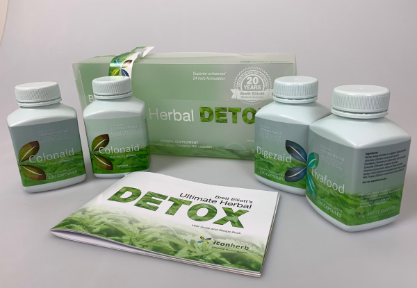 30-Day Supply of Ultimate Herbal Detox or Slim Kits with Free Delivery