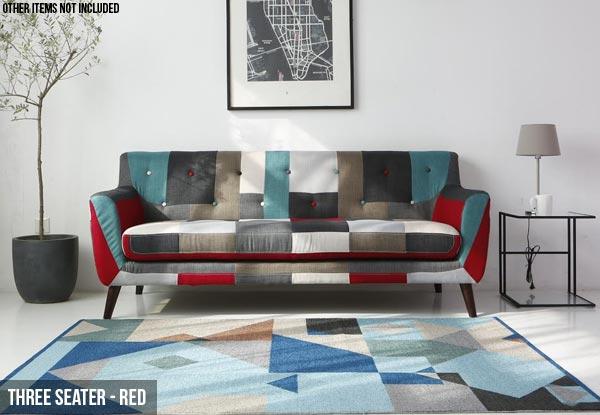Patchwork sofa grabone nz for Affordable furniture auckland