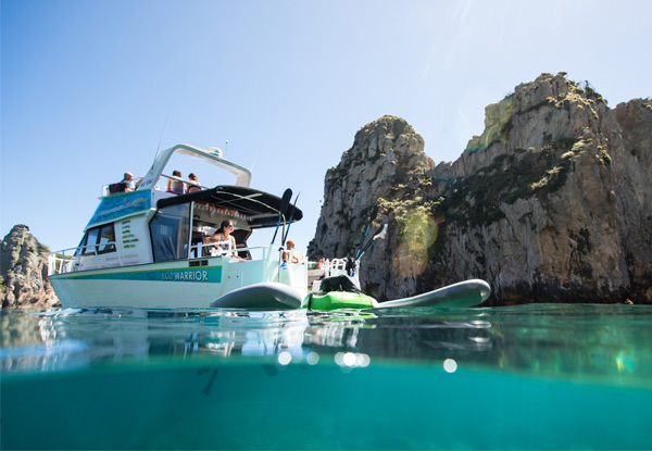 Full-Day Island Explorer Boat Trip for One Adult incl. Lunch & Activities - Options for Two Adults, Children or Family Pass