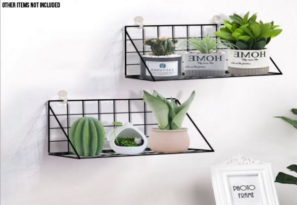 Hanging Shelf - Two Colours Available