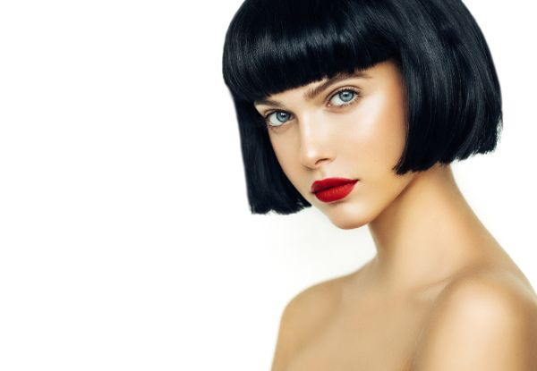 Keratin Express Blowout with Luxury Re-Style Haircut, Blow-Dry & GHD Finish for One Person