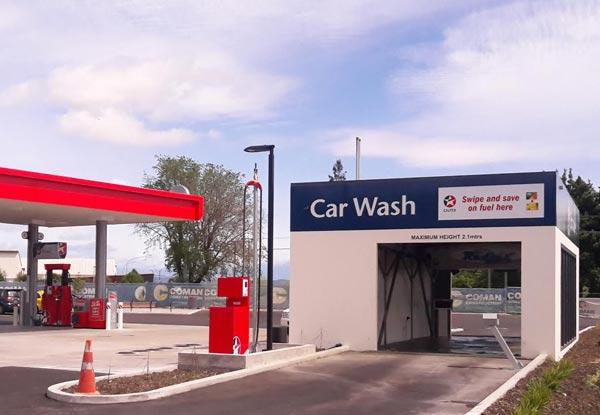 Brushless Car Wash Christchurch