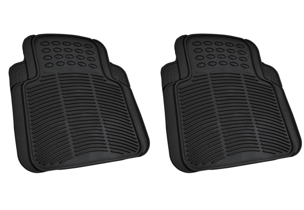 Five-Piece Heavy-Duty Rubber Car Floor Mat Set