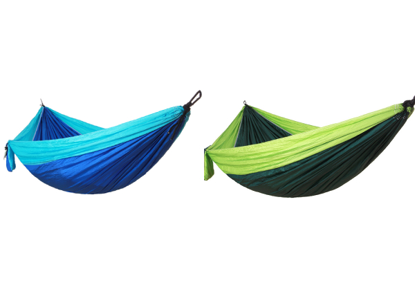 Lightweight Portable Single Hammock - Two Colour Options Available