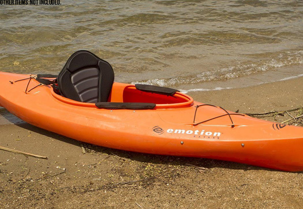 Deluxe Soft Padded Portable Kayak Seat