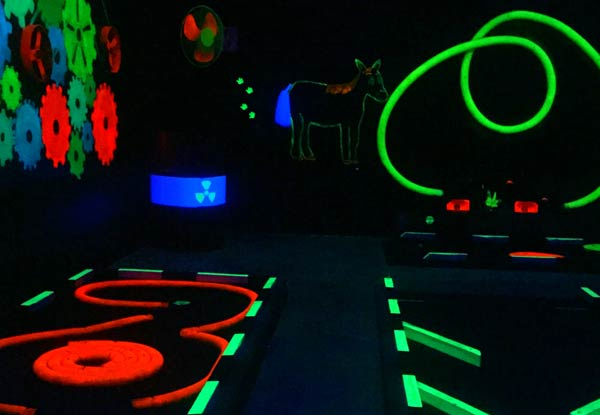 One Round of Mini Golf - Valid Wednesday to Sunday