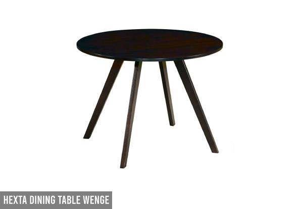 Wood Dining Room Table Range - Two Styles & Two Colours Available