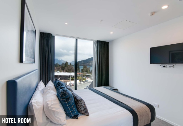 Two-Night Queenstown CBD Stay in a Hotel Room for Two People incl. WiFi & Parking - Options for up to Six People