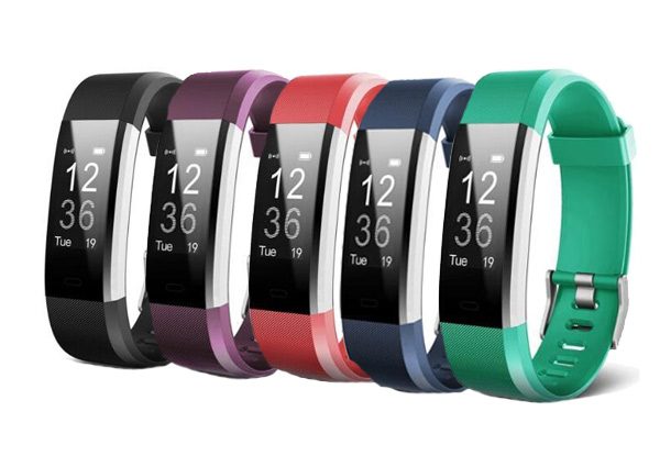 Activity Fitness Tracker - Five Colours Available with Free Urban Delivery