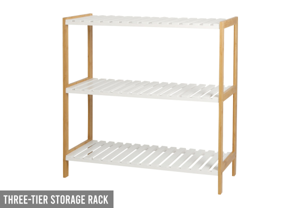 Liberty Vita Three-Tier Shelf - Option for Three-Tier Storage Rack
