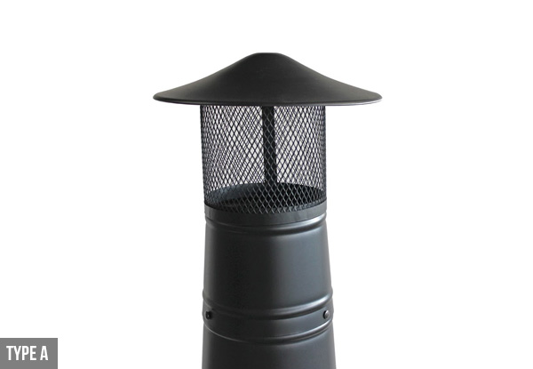 Iron Garden Chiminea - Two Styles Available