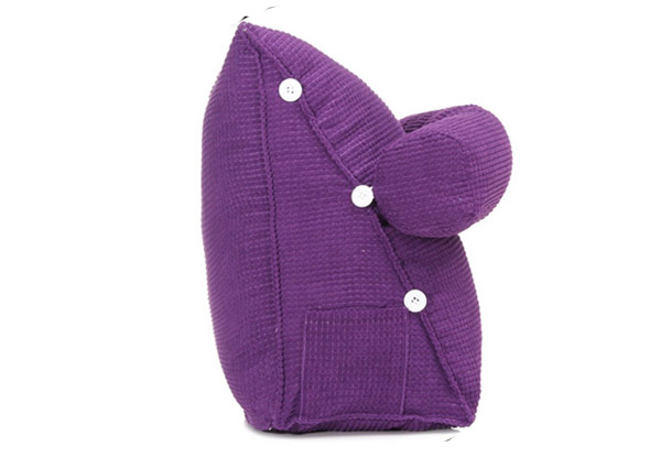 Adjustable Back Wedge Pillow - Three Colours Available with Free Delivery