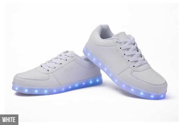 LED Light-Up Fashion Sneakers - Two Colours Available