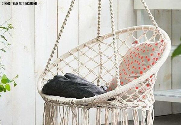 Netted Hammock Chair Grabone Nz