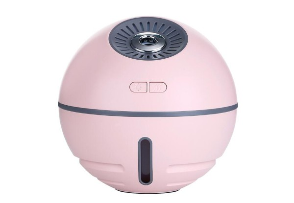 Three-in-One Humidifier, Light & Fan - Three Colours Available with Free Delivery