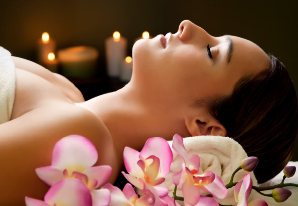 90-Minute Pamper Package incl. a Foot Soak, Back & Scalp Massage, Hydrating Facial & Eye Trio