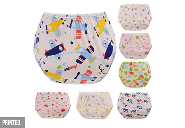 Seven-Pack of Potty Training Pants - Three Styles Available with Free Delivery
