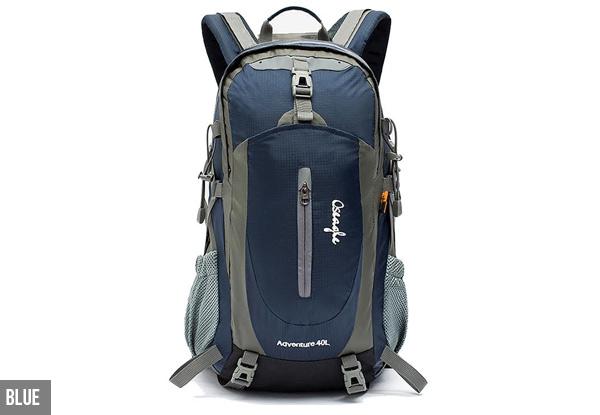 89908cc43e 40L Water-Resistant Ergonomic Backpack with Bonus Rain Cover - Four Colours  Available. Next Previous
