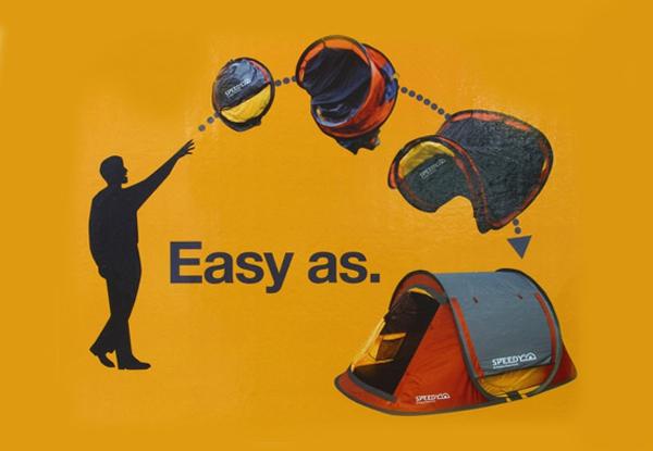 $299 for a Four-Person Tent  sc 1 st  GrabOne & Four Person Speedy Tent u2022 GrabOne NZ
