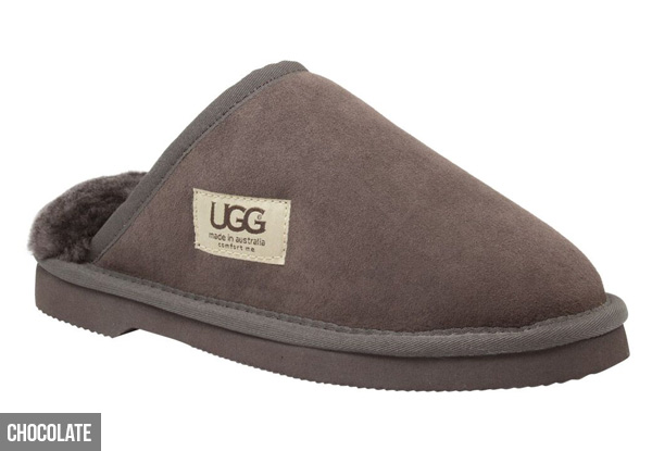 Comfort Me Unisex Australian Made Memory Foam Classic UGG Scuffs - Four Colours & Ten Sizes Available