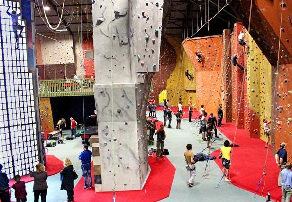 Extreme Edge Rockclimb...