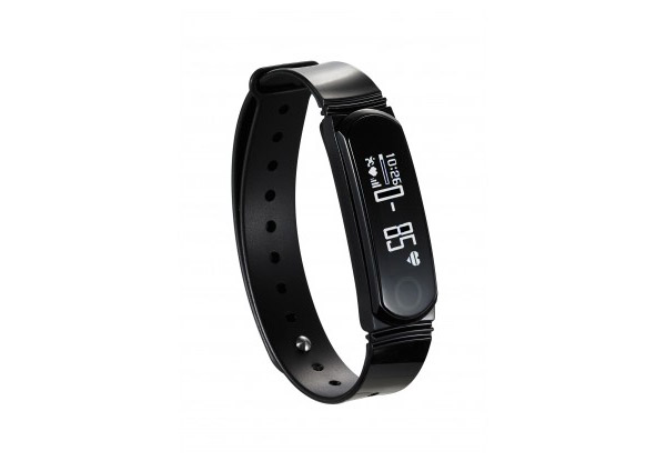 Q Band Activity Tracker in Black
