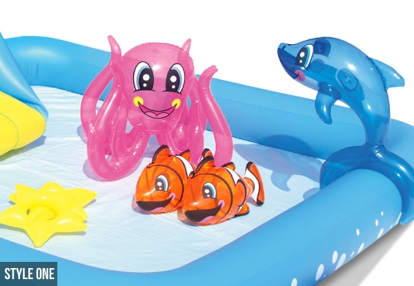 Bestway Kids Wading Pool - Two Options Available