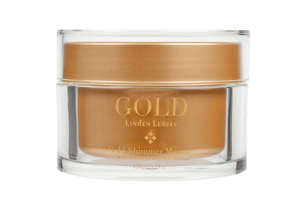 Linden Leaves Gold Range - Options for Face & Body Mist or Shimmer Mousse