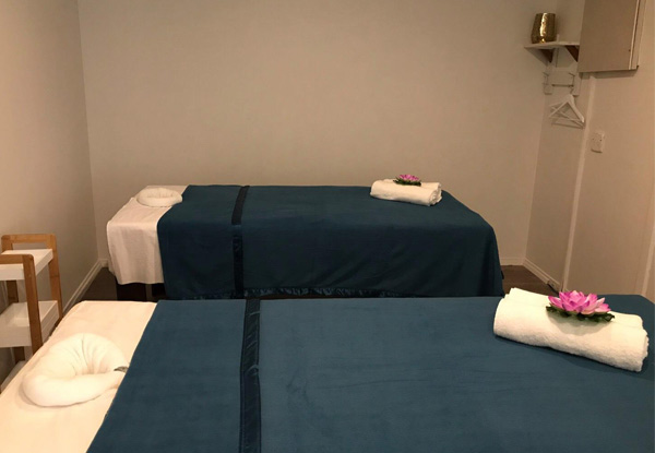 60-Minute Traditional Thai Aromatherapy or Deep Tissue Massage for One Person - Options for Two People & 90-Minute Traditional Thai Massage incl. Coconut Oil Foot Massage